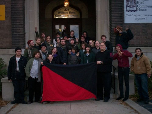 Virginia Anarchist Federation Meeting Photo - 26 January 2008 - Richmond, Virginia